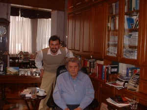 photo avec theodorakis